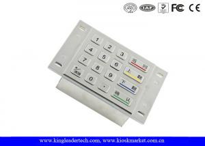 China ATM Machine Numeric Metal Keypad 4 x 4 Matrix With 4 Large Function Keys on sale