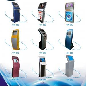 China High quality17inch,19inch KIOSK,intelligent queue management system on sale