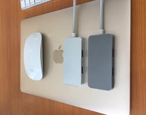China Lenovo USB-C Hub Type C Adapter with SD/TF HDMI Port USB 3.0 USB 3.1 type C Charging Adapter 4K USB-C hub for Macbook on sale