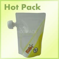 Microwave Safe Stand Up Pouch With Spout And Top Zipper For Babies Food