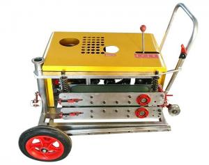 China Yellow Cable Hauling Machine For Cable Puller , Efficient Wire Laying Machine on sale