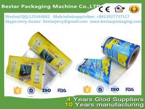 China Rolos de filme de empacotamento do gelado, sacos de plástico para o picolé, filme de rolo plástico do empacotamento de alimento com empacotamento bestar on sale