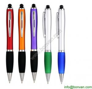 China promotional gift stylus touch pen,colored lacquer plastic stylus pen,gift stylus pen on sale