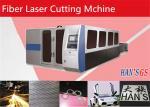 Fabricantes de aço inoxidável padrão da máquina de corte do laser da fibra com sistema do CNC de Wolrd Famousopen