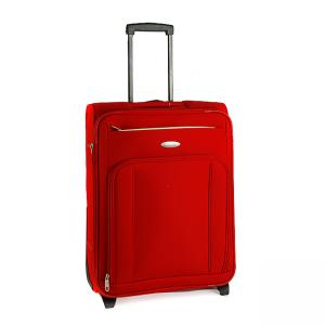 China Red Portable and fashionable design polyester/ nylon Trolley Bag  with 20'24'28' on sale