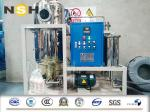Demulsify Turbine Oil Purifier 380V/3P/50Hz Fixing Type With Four Wheels Explosion Proof