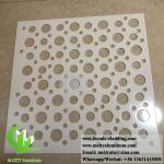 Perforated Aluminum Sheet for building curtain wall cladding facade fence