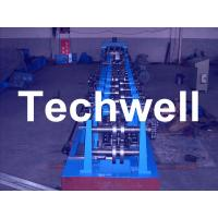 High Productivity, Automatic Type C Purlin Roll Forming Machine With Chain Transmission