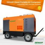 20bar 290psi 900 Cfm Heavy Duty Diesel Portable Mobile Screw Air Compressor