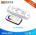 Bincolor DC 12V 24V 5A 4 channels RGB led lighting controller with RF touch remote control