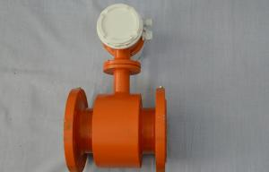China Electromagnetic Flow Meter with 4-20 mA , Battery Powered on sale
