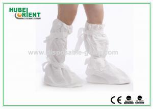 China A bota descartável das tampas azuis da sapata do polietileno cobre o peso leve on sale