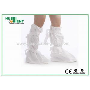 China La botte jetable de polyéthylène de couvertures bleues de chaussure couvre le poids léger on sale