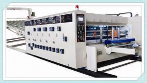 China flexo printing slotting die cutting machine /water ink printer slotter die cutter machine on sale