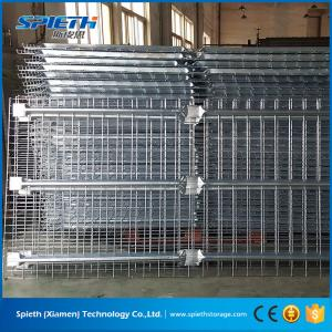 China Heavy duty galvanized steel wire mesh decking on sale