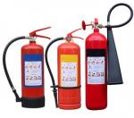 Safe / Reliable 2KG Carbon Dioxide Fire Extinguisher Durable For Factory