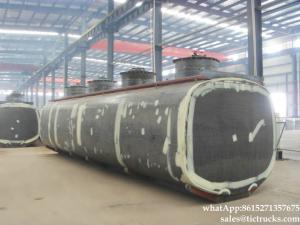 China SHAC-MAN tanker Truck upper oil tank body WhatsApp:8615271357675 on sale