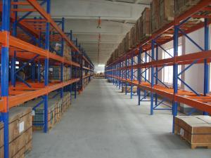 China Heavy Duty Stacking Galvanized Warehouse Storage Mezzanine Cantilever Teardrop Shelf Metal Steel Shuttle Rack on sale