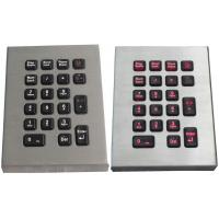 China industrial pc desk top keyboards / numeric keypad with touchpad on sale