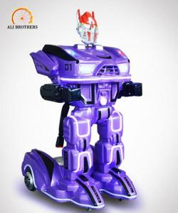 China Shopping Mall Kids Carnival Rides , Electric Robot Kids Ride On Toys on sale