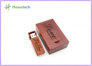 China Engraving USB Wooden Memory Sticks Customized Logo 128MB - 64GB Capacity on sale