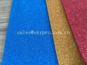 China Glitter EVA Sole Sheet With Rolls Assorted Colors / Densities / Hardness / Textures on sale