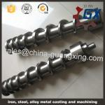 Single screw barrel for granulator machine
