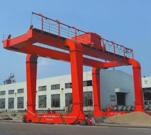 China Electric Box Girder Gantry Crane for Construction Sites / 37t - 15m - 9m / on sale