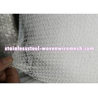 "PP PE PTFE Knitted Metal Mesh Width 6 ""- 30 "" Wear And Abrasion Resistance"