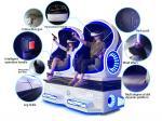 Cinema fácil de operar do vr da realidade virtual 9d dos filmes da montanha russa 9d com função movente