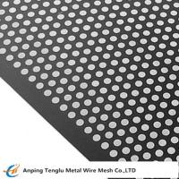 Carbon Steel Perforated Metal |Hot or Cold Steel Punching Sheet