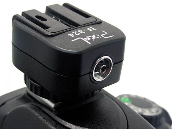 DSLR accessory/ TF-324 Hotshoe Convert Adapter for studio light/ Sony flash HVL Images