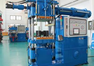 China Custom Horizontal Rubber Injection Molding Machine 400 Ton For Arm Bushing Silicone Parts on sale