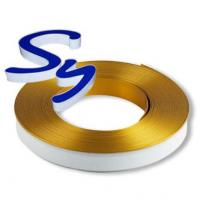 China Acrylic Channel Letters Aluminium Trim Cap With PC And Foam Strip on sale
