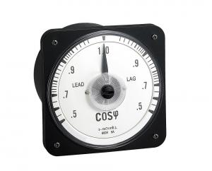 China 110*110mm Analog Power Factor Meter Abs Plastic Shell Housing Transparent Glass on sale