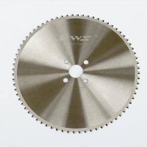 China Metal Pipe Cold Cut Saw Blade Special Geometry Tip 2 - 2 . 7mm Width on sale