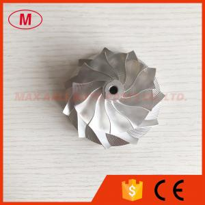 China GT15-25 point milling 53.11/70.97mm 11+0 blades Snake Curve, Performance billet/aluminum 2618 compressor wheel on sale