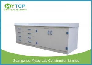 China Clinic PP Modular Lab Furniture Chemical Resistance Lab Table For Laboratory on sale
