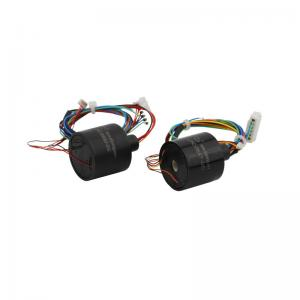 China 5 Circuits Capsule Slip Ring with 5VAC Voltage and Wide Working Temperature Range for LED Industry on sale