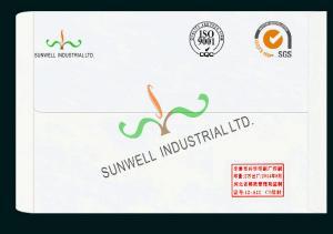 China Normal Finishing Custom Printed Envelopes , Business Greeting Card Envelopes on sale