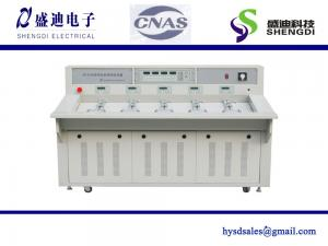 China HS6103C Three Phase Electrical Meter Test Equipment(Calibration Test Bench),6Positions 100A current 0.05% accuracy on sale