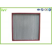 Thermostable Hepa Dust Filter , Custom Hepa Filter Large Air Flow 320×320×220mm