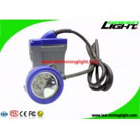 6.6Ah Waterproof Rechargeable LED Headlamp , Explosion Proof Safety Mining Helmet Light with 22 Hours Lighting Time