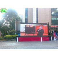 Slim Aluminum Die Case Stage Led Screens Weatherproof For Event Stage Show
