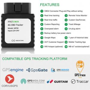 Mictrack MP90 SIM Card Tracking Wireless 4G LTE Vehicle Car