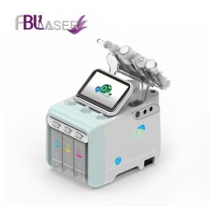 China New technology H2-O2 water jet peel spa dermabrasion system vacuum facial clean / skin whiten Hydra machine on sale