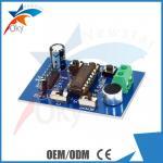 módulo para el módulo de la voz del módulo de la grabación de Arduino ISD1820, tablero del módulo de Telediphone con los micrófonos