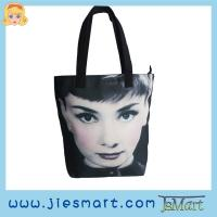 JSMART photo bag Canvas Straight handbag sublimation printing photo bag