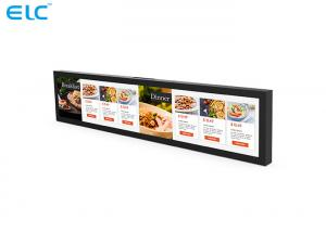 China High Resolution Stretched Bar LCD Display Wall Mounting	Ultra Light Design on sale