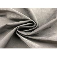 China Plain Water Repellent Dyed Memory Fabric 13% Nylon 87% Polyester For Jacket on sale